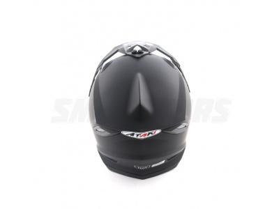 Шлем (кроссовый) Ataki MX801 Solid черный матовый XL фото 1