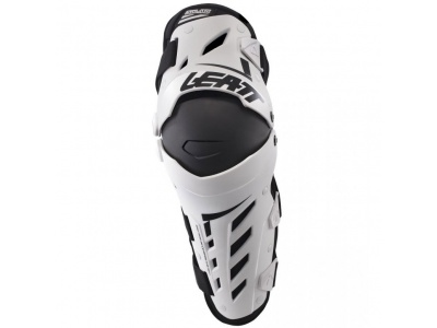 Наколенники Leatt Dual Axis Knee & Shin Guard White/Black S/M (5017010175) фото 1
