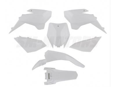 Комплект пластика YCF белый фото 1