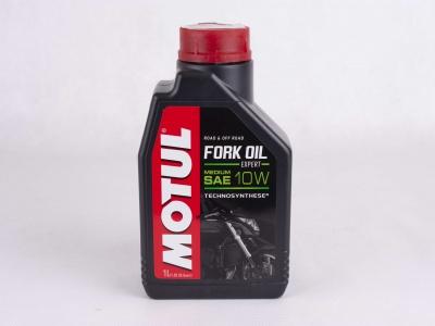 Масло для вилок Motul Fork Oil Expert Medium 10W 1л фото 1