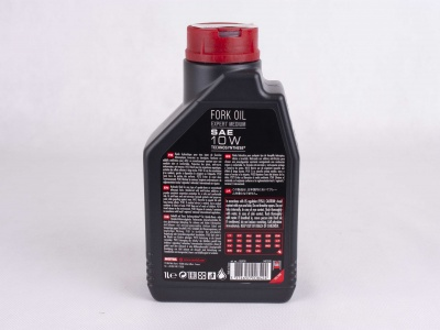Масло для вилок Motul Fork Oil Expert Medium 10W 1л фото 3