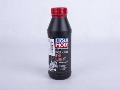 Масло для вилок и амортизаторов 5W (синтетическое) Liqui Moly 0,5 л  фото 1