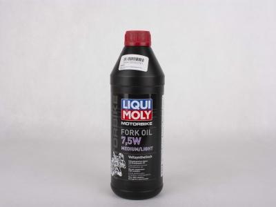 Масло для вилок и амортизаторов 7.5W (синтетическое) Liqui Moly 1 л  фото 1
