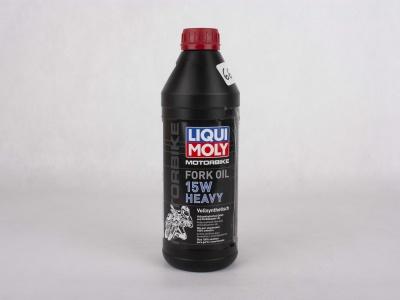 Масло для вилок и амортизаторов 15W (синтетическое) Liqui Moly 1 л  фото 1