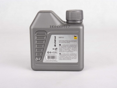 BREAKE FLUID DOT 5.1 0,25L Жидкость тормозная фото 3