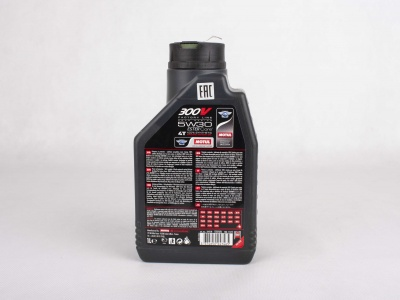 Масло Motul 4T 300 V 4T FL Road Racing SAE  5W30  (1 л) фото 3