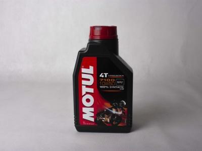 Мотор/масло MOTUL 7100 4T SAE 10W50 (1 л) фото 1