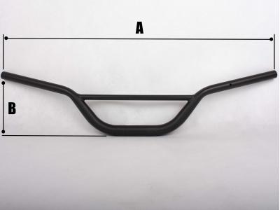 Руль PROTAPER (REPLICA) алюминиевый высокий зеленый фото 3