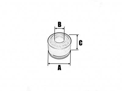 Маслосъемные колпачки 4V 4шт комлпект фото 3