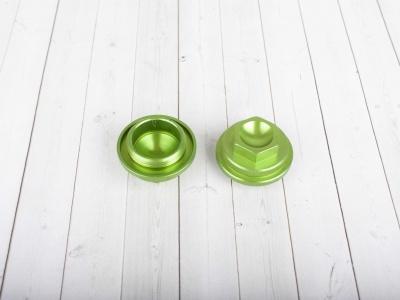 Крышки клапанов CNC YX125 зеленые фото 1