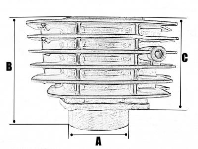Цилиндро-поршневая группа 4T двиг. LF120 см3 фото 5