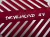 Крышка головки цилиндра левая YX150,160 см3  CNC красная DEVIL превью 3