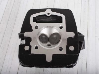 Головка цилиндра двиг. CB250 d-65,5mm в сборе с клапанами и распредвалом фото 3