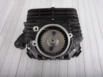 Головка цилиндра двиг. CB250 d-65,5mm в сборе с клапанами и распредвалом фото 5
