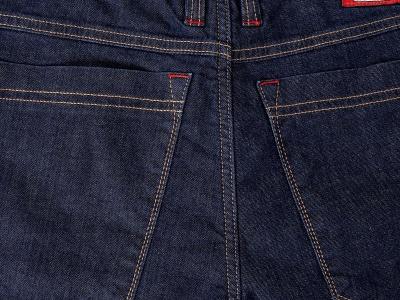 Мотоджинсы STARKS SNAIL мужские 33 темно-синие фото 19