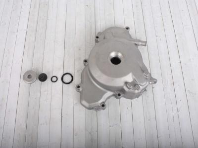 Крышка картера левая (+2 пробки с прокладками) ZS177MM(NC250)/ZS194MQ(NC450) фото 1