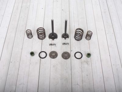 Клапаны впуск+выпуск+ремкомплект YX150/160см3 (W150-2/W160-2) фото 1