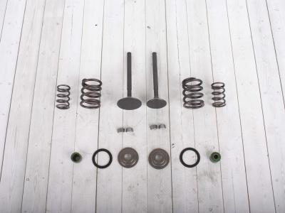 Клапаны впуск+выпуск+ремкомплект YX150/160см3 (W150-2/W160-2) фото 3