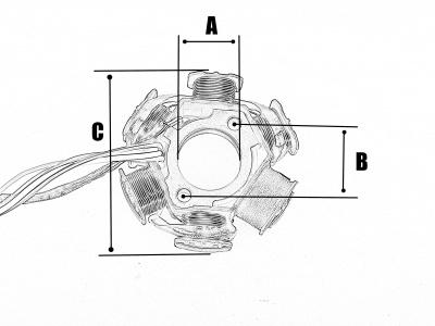 Генератор в сборе YX150/160см3 (W150-2/W150-5/W160-2) фото 5