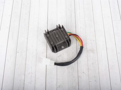 Регулятор напряжения 4T 125-150сс 1 фишка 6 конт. SCOOTER-M фото 1