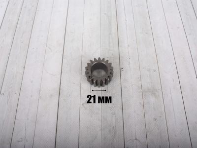 Шестерня ведущая коленвала KAYO двиг. YX140 см3 (эл.стартер) CN фото 3
