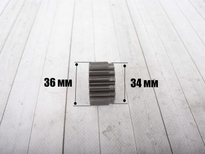 Шестерня ведущая коленвала KAYO двиг. YX140 см3 (эл.стартер) CN фото 5