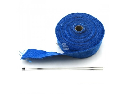 Термолента синяя (длина 5м, ширина 5см, толщина 2мм) фото 5
