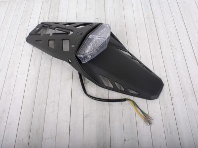 Крыло заднее со стоп сигналом и габаритами LED фото 3