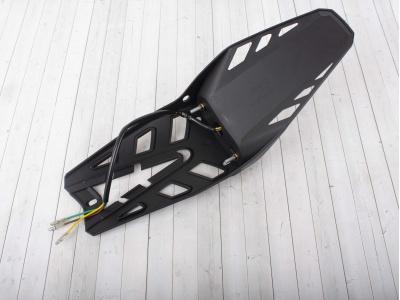 Крыло заднее со стоп сигналом и габаритами LED фото 5