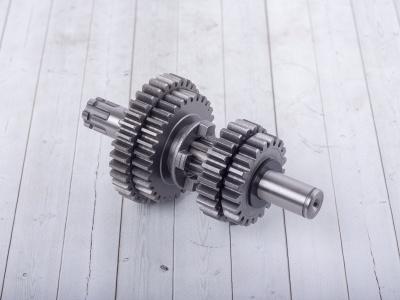 Вал КПП вторичный в сборе двиг. YX140 (кикстартер),150,160 OEM фото 1