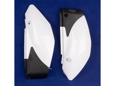 Пластик боковой задний (пара) TTR125 (цв. белый) фото 1