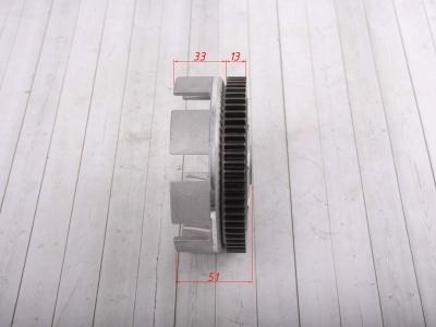 Корзина сцепления двиг. YX140,150,160 SM-PARTS фото 3