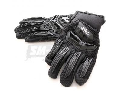 Перчатки текстильные ATAKI SC-514 черные  L фото 1