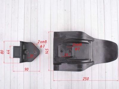 Защита двигателя пластиковая GR7 2T (комплект) фото 9