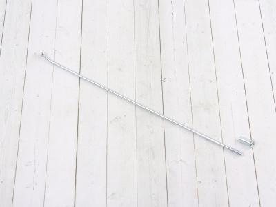 """Спица колеса 18"""" (20° 3,2х225мм) (1 шт.) (цв. серебро) TTR фото 1"""