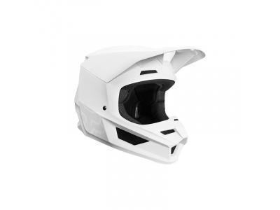Мотошлем Fox V1 Matte Helmet White XL 61-62cm (21828-008-XL) фото 1