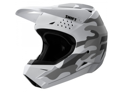 Мотошлем Shift White Helmet Camo White S (19335-463-S) фото 1