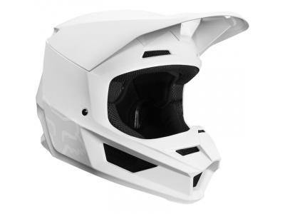 Мотошлем Fox V1 Matte Helmet White L 59-60cm (21828-008-L) фото 3