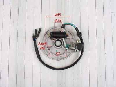 Статор генератора KAYO двиг. YX140см3 CN (1 катушка) фото 3