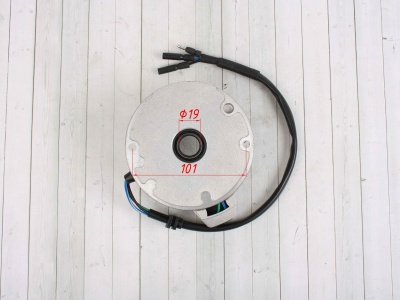 Статор генератора KAYO двиг. YX140см3 CN (1 катушка) фото 5