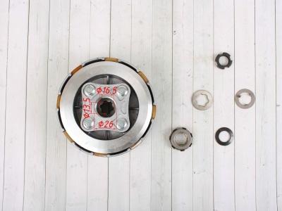 Сцепление (корзина) YX140/150/160 в сборе фото 5