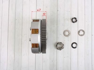 Сцепление (корзина) YX140/150/160 в сборе фото 7
