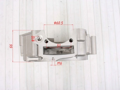 Картера левая часть (половина) YX 150-5 фото 7