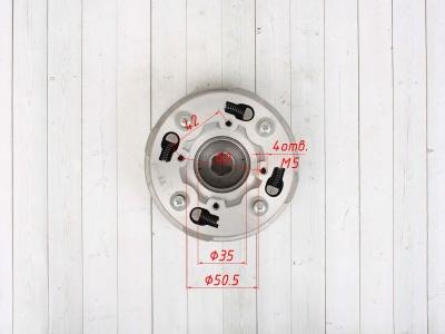 Сцепление (корзина) в сборе YX125cc полуавтомат фото 3