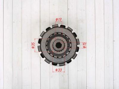 Сцепление (корзина) в сборе YX125cc полуавтомат фото 5