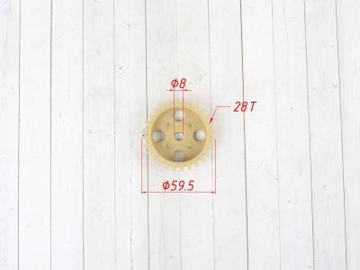 Шестерня масляного насоса LF 125 фото 3