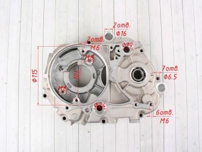 Картер двигателя YX125cc Полуавтомат фото 7