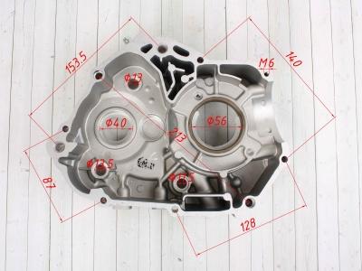 Картер двигателя левый KAYO двиг. ZS155 см3 (P060402) CN фото 5