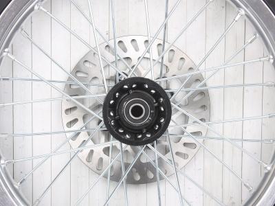 "Колесо 16"" 2.15 переднее в сборе (диск алюмин, покрышка дорожн,торм диск) KAYO фото 5"