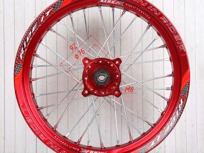 Диски в сборе Supermoto RIDE IT 14-14 Красные фото 11